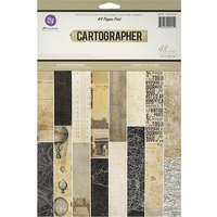 Prima Marketing Cartographer Paper Pad A4 48/Sheets-16 Single-Sided Patterns/3 Each