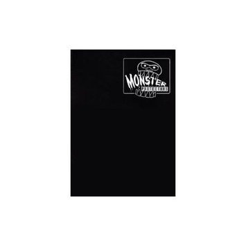 Monster Binders 9PMBK Binder 9 Pocket Monster - Matte Black