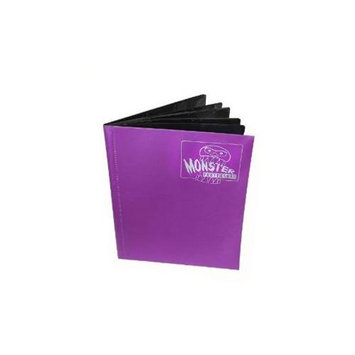 Monster Binders 9PMCO Binder 9 Pocket Monster - Matte Coral Purple
