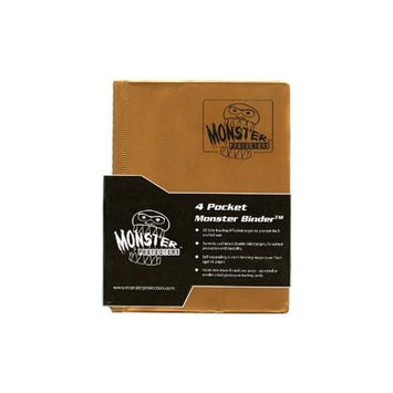 Monster Binders 4PMGO Binder 4 Pocket Monster - Matte Gold