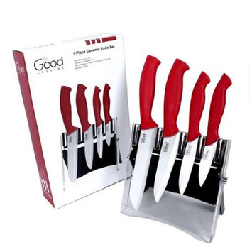 Cameron's CAMERONS GCO-CER-RD SET OF 4 CERAMIC KNIVES RED