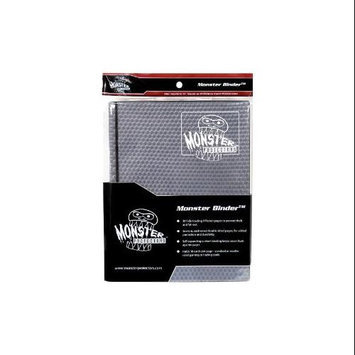 Monster Binders 9PHBK Binder 9 Pocket Monster Holofoil - Black