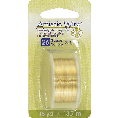 Artistic Wire 26AWG-NTB Colored Wire 26 Gauge 15 Yards/Pkg Reviews