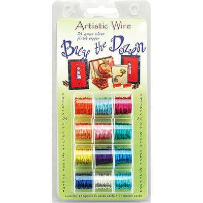 Buy The Dozen Colored Wire 5 Yards 12/Pkg-24 Gauge