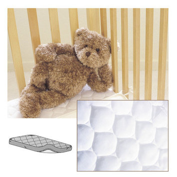 American Baby Company Waterproof Quilted Crib Mattress Pad