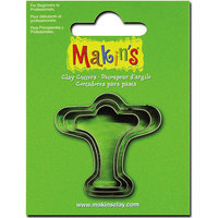 Makin's Clay Cutters 3/Pkg-Hand