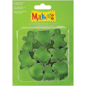 Makin's Usa Makin's Clay Cutters 9/Pkg-Everyday