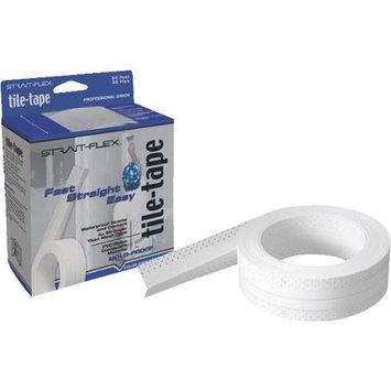 Strait-flex Drywall Tape: 2.25 in. x 50 ft. Tile-Tape Nylon/PVC Composite Tape T-50-S