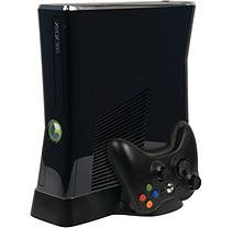 CTA Digital Xbox 360 Slim Cooling Fan with Controller Storage
