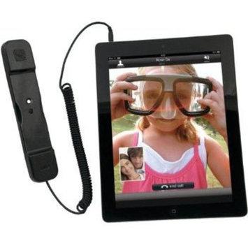 Eforcity CTA Digital Radiation Safe Telephone Handset for iPad & iPhone, Black
