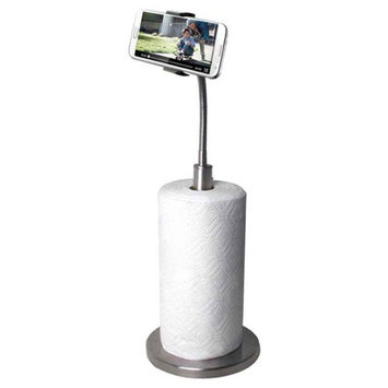 Cta Sm-pth Paper Towel Holder With Gooseneck Stand For Smartphones