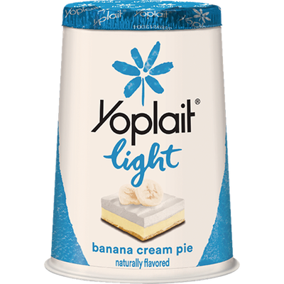 Yoplait® Light Banana Cream Pie Fat Free Yogurt