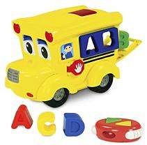 Learning Journey International Llc Learning Journey Remote Control Shape Sorter-Letterland School Bus