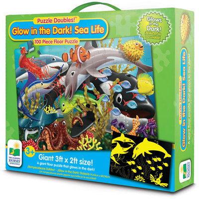 The Learning Journey Glow in The Dark Puzzle Doubles