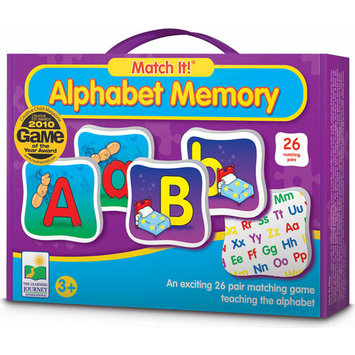 Learning Journey 192474 Match It- Alphabet Memory