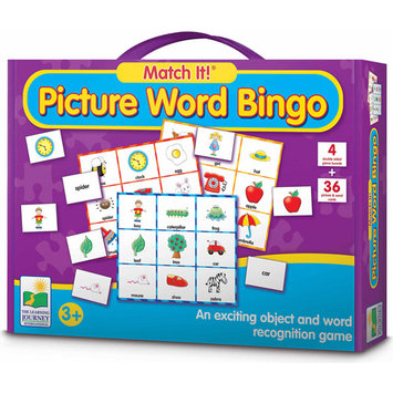 Learning Journey Match It! Picture Word Bingo