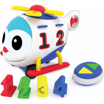 Learning Journey International Llc Learning Journey Remote Control Shape Sorter-Chopper the Number Copter