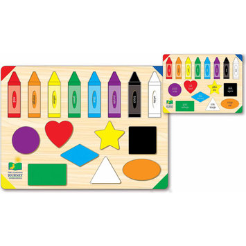 The Learning Journey Lift and Learn Colors and Shapes Puzzle