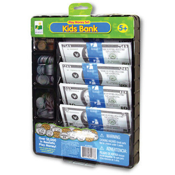 Learning Journey 604663 Kids Bank Play Money Set