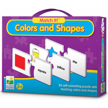 Learning Journey Match It! Colors & Shapes