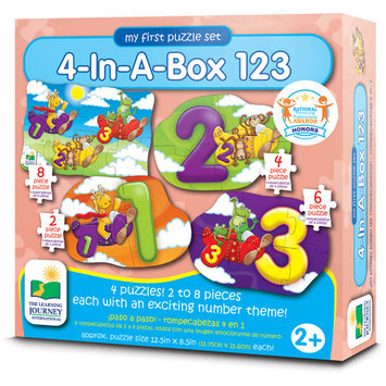 The Learning Journey Step Ups! 4-In-A-Box 123