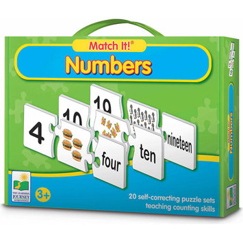 Learning Journey 648933 Match It Numbers