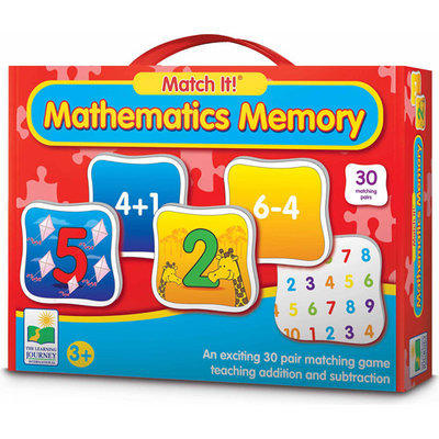 Learning Journey 687369 Match It Mathematics Memory