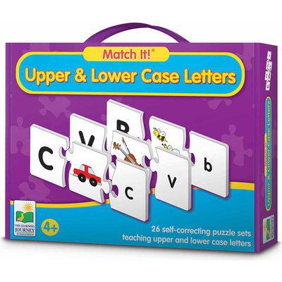 Learning Journey Match It! Upper & Lower Case Letters