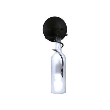 VINOTEMP EP-SCONCE01 Vine & Wine Bottle Sconce