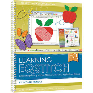 Electric Quilt Books-EQ W/Me: Learning EQStitch