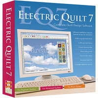 The Electric Quilt Co. Electric Quilt 7 Design Software