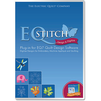 Electric Quilt A-STITCH EQStitch Embroidery Software -Plug-In For EQ7