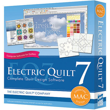 Electric Quilt A-007MAC Electric Quilt 7 For MAC