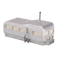 O Stainless Mobile Home - M.T.H. Electric Trains - 3090005