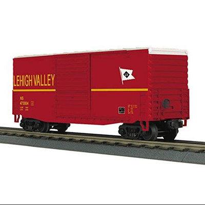 M.t.h. Electric Trains MTH 40 High Cube Box Car - Lehigh Valley (NS Heritage) MTH3074748 MTH Electric Trains