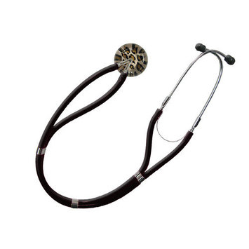UltraScopes Adult Classic Stethoscope Brown Leopard Design