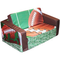Newco Kids Football 50 yard Line Kids Flip Sofa