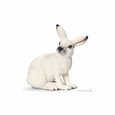 Schleich North America, Inc. White Hare Figurine by Schleich - 14692