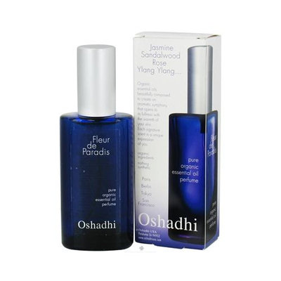 Oshadhi - Fleur de Paradis Pure Organic Essential Oil Perfume - 50 ml.