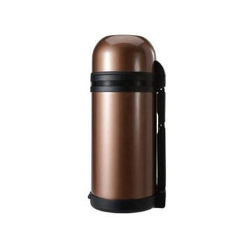 Timolino SVW-1200MBW 40 oz. Alpine Insulated Vacuum Bottle - Amber Brown