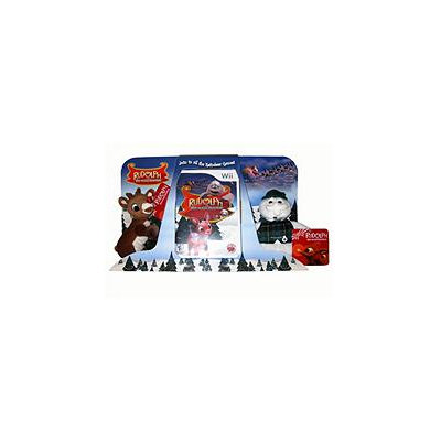 Red Wagon Rudolph the Red-Nosed Reindeer with 2 Plush Toys - Wii