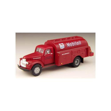 HO 41-46 Chevy Box Trk, Mobiloil MWI30301 CLASSIC METAL WORKS