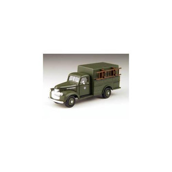 HO 41-46 Chevy Box Trk, Bell MWI30304 CLASSIC METAL WORKS