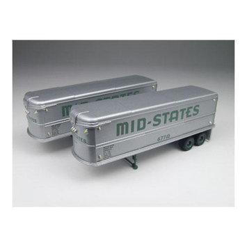 HO 32' Aerovan Trailer, Mid-States (2) - Classic Metal Works - 31105