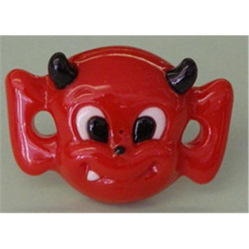 Billy Bob Teeth Little Devil Infant/Toddler Pacifier- Red