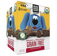 Blue Dog Bakery Organic Fresh Baked Dog Treats, Peanut Butter & Molasses (3.5 lb.)