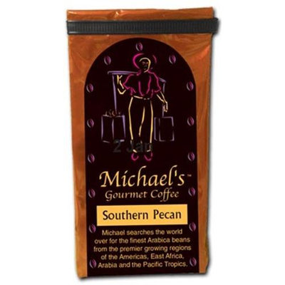 Michaels Coffee 10019 Southern Pecan Flavored Coffee, 16 Oz. -Pack of 3