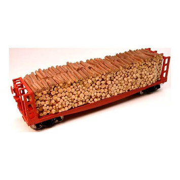 Chooch Enterprises, Inc. HO Pulpwood Car Load: Atlas CHO7262 CHOOCH ENTERPRISES INC.