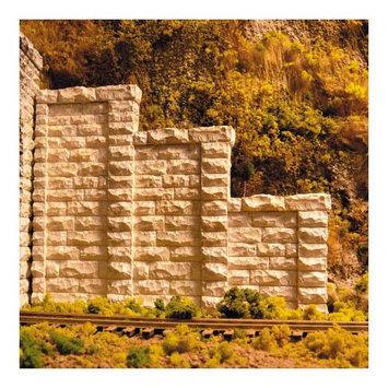 Chooch Enterprises, Inc. HO Cut Stone Stepped Tunnel Abutment (2) - CHOOCH ENTERPRISES INC. - 8401