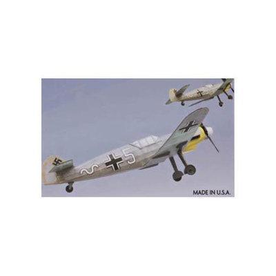 Messerschmitt Me-109G Rubber Pwd. Airplane Laser Cut Kit 18 Wingspan - Dumas - 225
